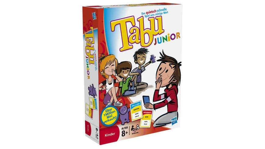 Hasbro Gaming Tabu Junior