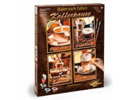 Schipper Malen nach Zahlen Motiv Gruppe Quattro Kaffeepause