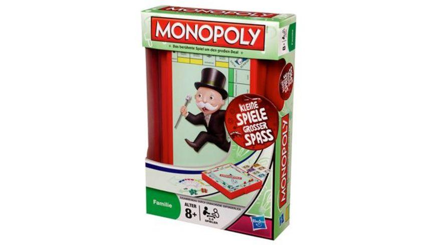 Hasbro Gaming Monopoly Kompakt