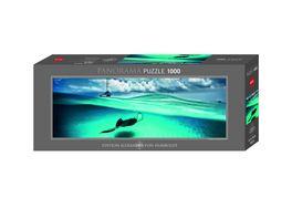 Heye Panoramapuzzle 1000 Teile Alexander von Humboldt Stingray