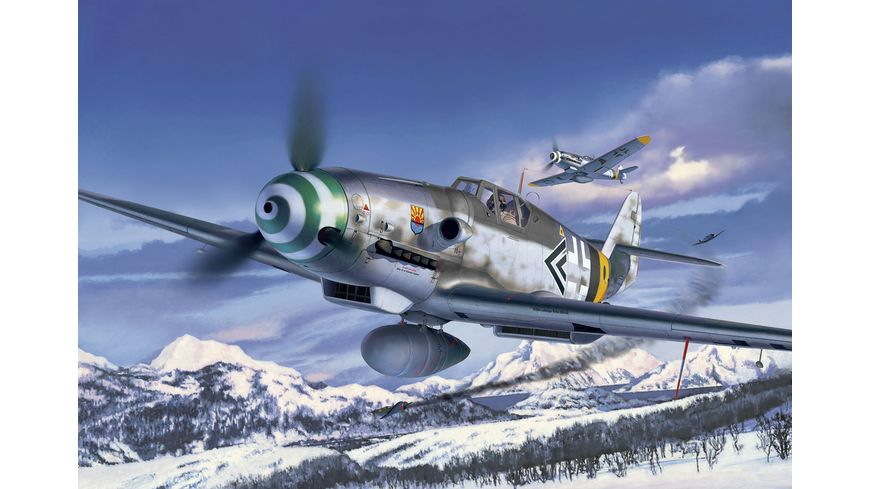 Revell 04665 Messerschmitt Bf109 G 6