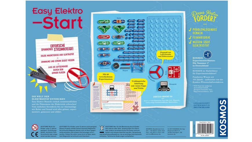 KOSMOS Experimentierkaesten Easy Elektro Start