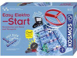 KOSMOS Easy Elektro Start Stromkreise mit Motor und Messgeraet