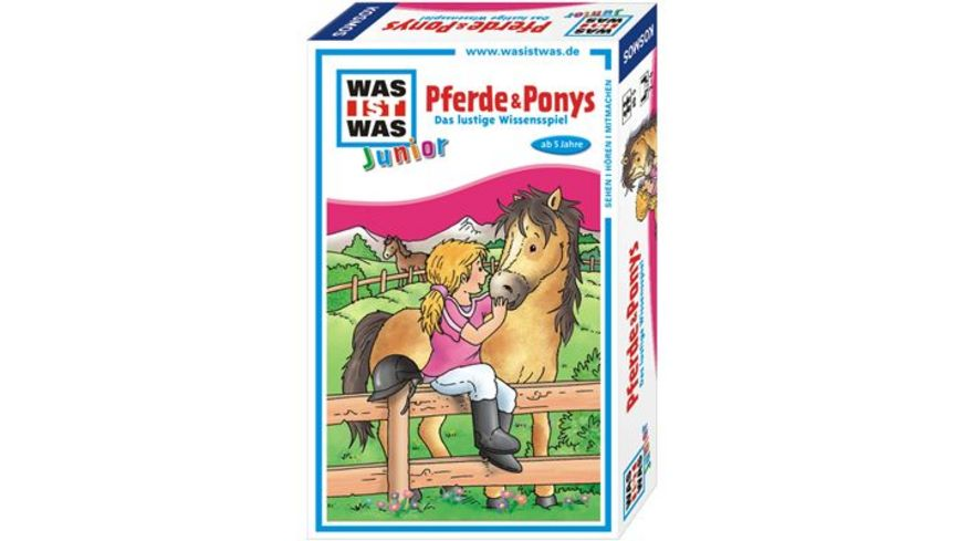 KOSMOS WAS IST WAS Junior Pferde und Ponys