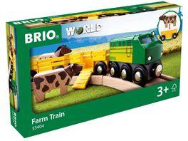 BRIO Bahn Bauernhof Zug