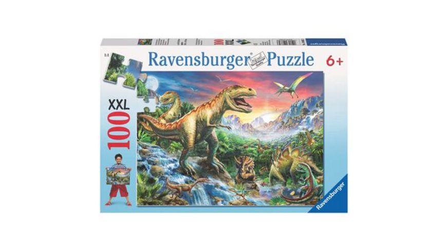 Ravensburger Puzzle Bei den Dinosauriern 100 Teile