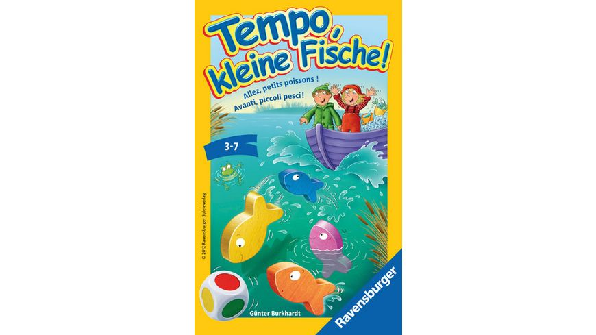 Ravensburger Spiel Mitbringspiel Tempo kleine Fische