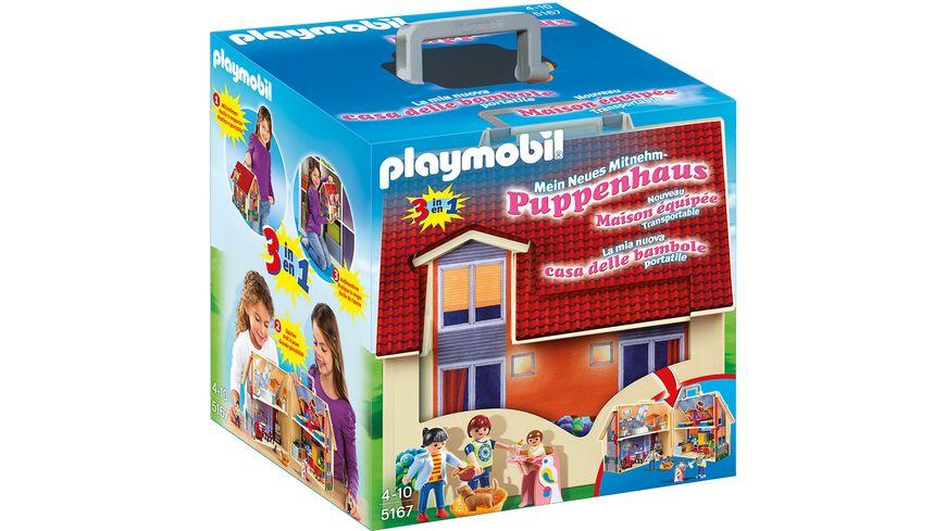 PLAYMOBIL - Dollhouse - Neues Mitnehm-Puppenhaus