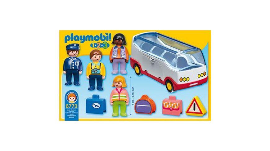 PLAYMOBIL 1 2 3 Reisebus