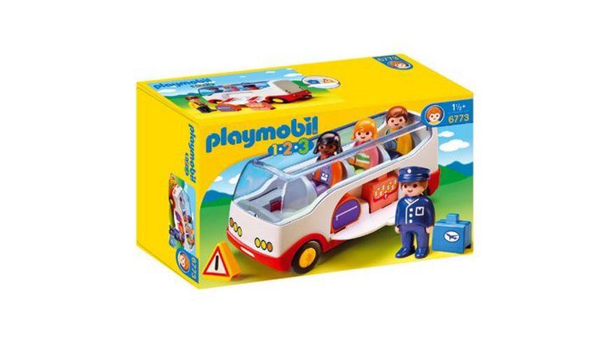 PLAYMOBIL 6773 1 2 3 Reisebus