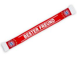 FC BAYERN MUeNCHEN Schal Bester Freund EXKLUSIV BEI MUeLLER