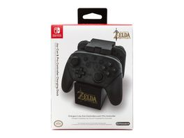 Nintendo Switch Pro Controller Ladestation Zelda