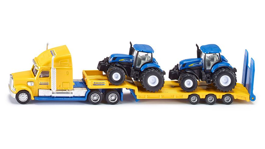 SIKU 1805 Farmer LKW mit New Holland Traktoren