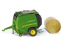 SIKU 2465 Farmer John Deere Ballenpresse 2465