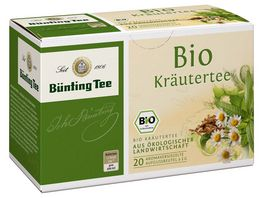 Buenting Tee Bio Kraeutertee