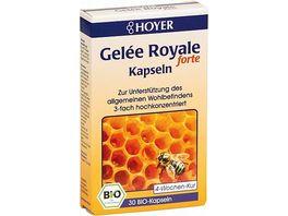 HOYER Gelee Royale Kapseln Forte Bio