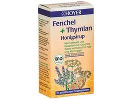 HOYER Fenchel Thymian Honigsirup