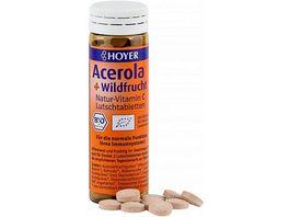 HOYER Acerola Wildfrucht Lutschtabletten Bio