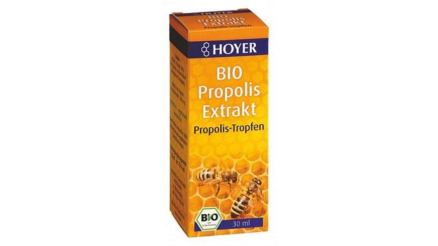 HOYER Propolis Extrakt Fluessig Bio