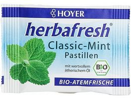 HOYER Classic Mint Pastillen Herbafresh Bio