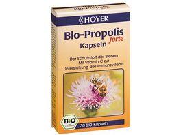 HOYER Propolis Forte Kapseln Bio