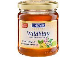 HOYER Wildbluetenhonig Bio