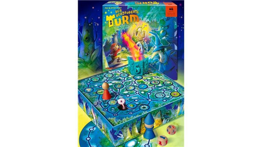 Drei Magier Spiele Kinderspiel Der verzauberte Turm