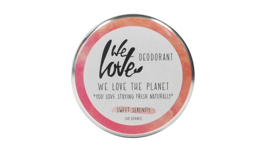 WE LOVE THE PLANET Natuerliche Deodorant Creme Sweet Serenity