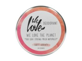 WE LOVE THE PLANET Natuerliche Deodorant Creme Sweet Serenity