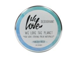 WE LOVE THE PLANET Natuerliche Deodorant Creme Forever Fresh