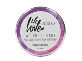 WE LOVE THE PLANET Natuerliche Deodorant Creme Lovely Lavender