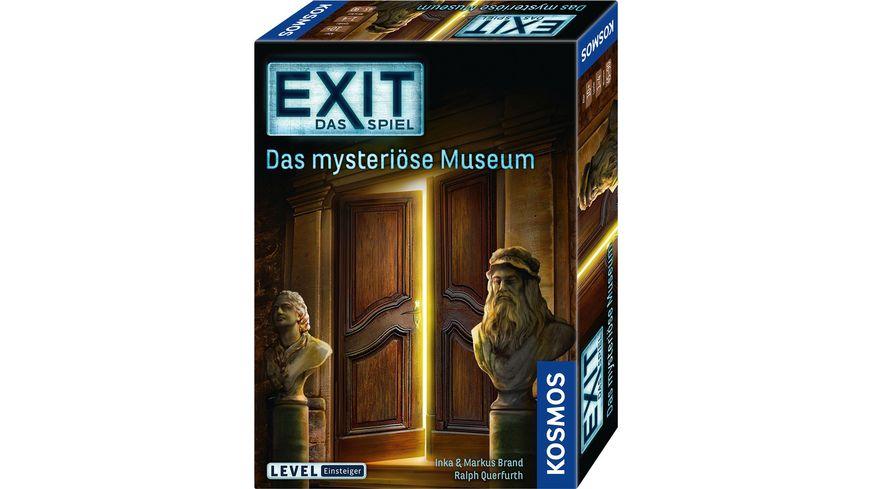 KOSMOS EXIT Das Spiel Das mysterioese Museum