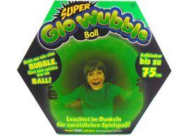 Vivid Super Glowubble aufblasbarer Ball leuchtend 75 cm