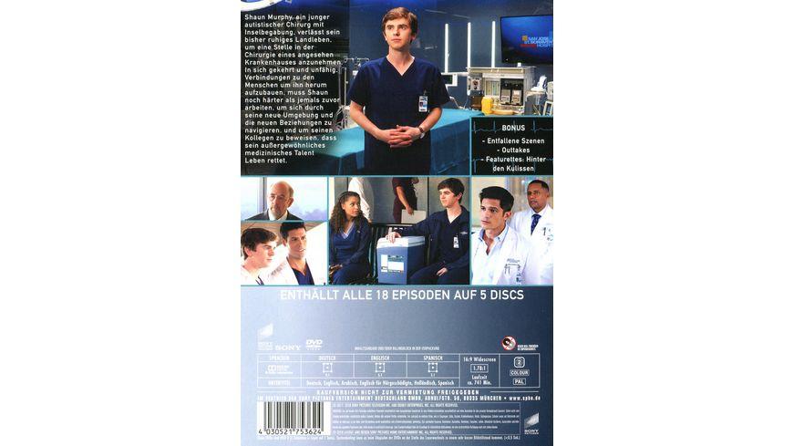 The Good Doctor Die komplette erste Season 5 DVDs