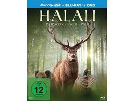 Halali Weidwerk Jaeger Wild Bluray 2D DVD