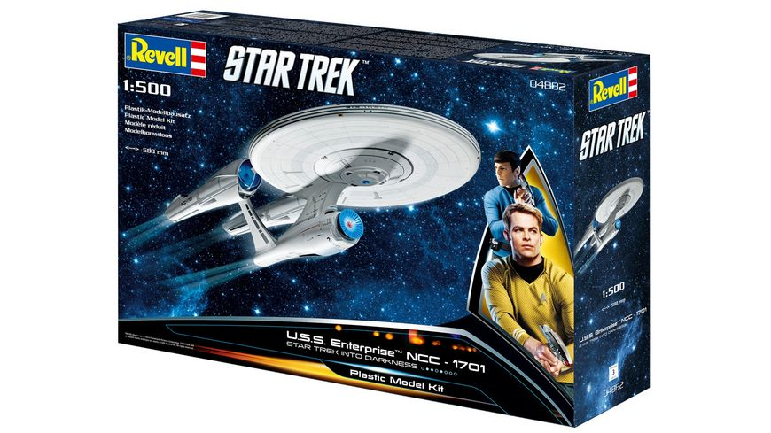 Revell 04882 U S S Enterprise NCC 1701 INTO DARKNESS