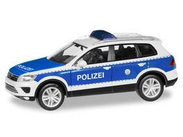 Herpa 093637 VW Touareg Bundespolizei