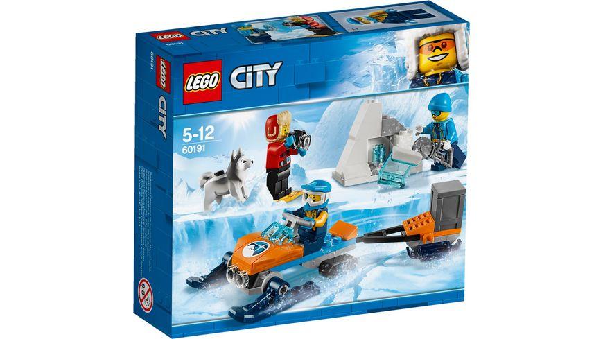 LEGO City 60191 Arktis Expeditionsteam