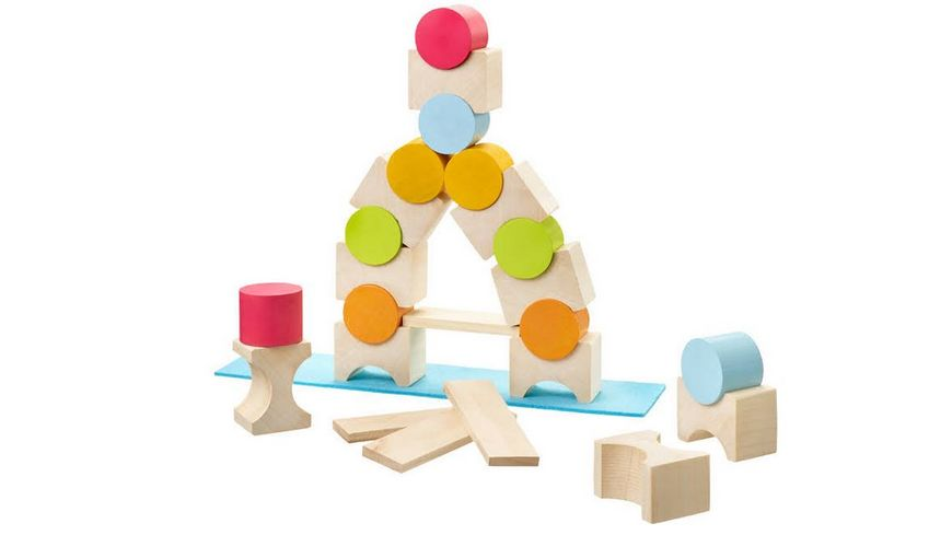 Selecta Coloro Baukloetze aus Holz