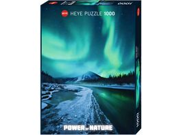 Heye Standardpuzzle 1000 Teile Power of Nature Lights 1000 Teile