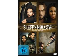 Sleepy Hollow Die komplette Serie 18 DVDs