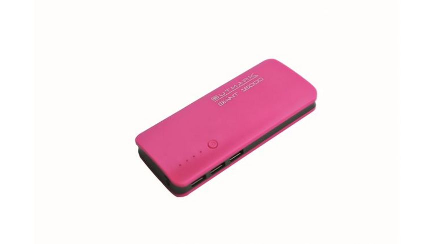 Outmark Powerbank Giant 16 000 mAh pink