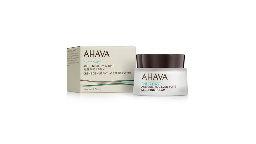 AHAVA AgeControl EvenTone Sleeping Cream