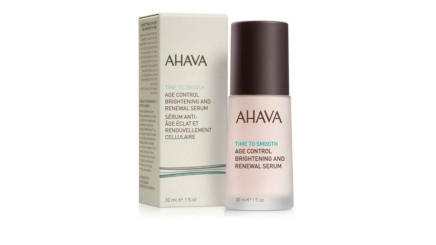 AHAVA Age Control Brightening Renewal Serum