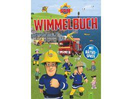 Feuerwehrmann Sam Wimmelbuch