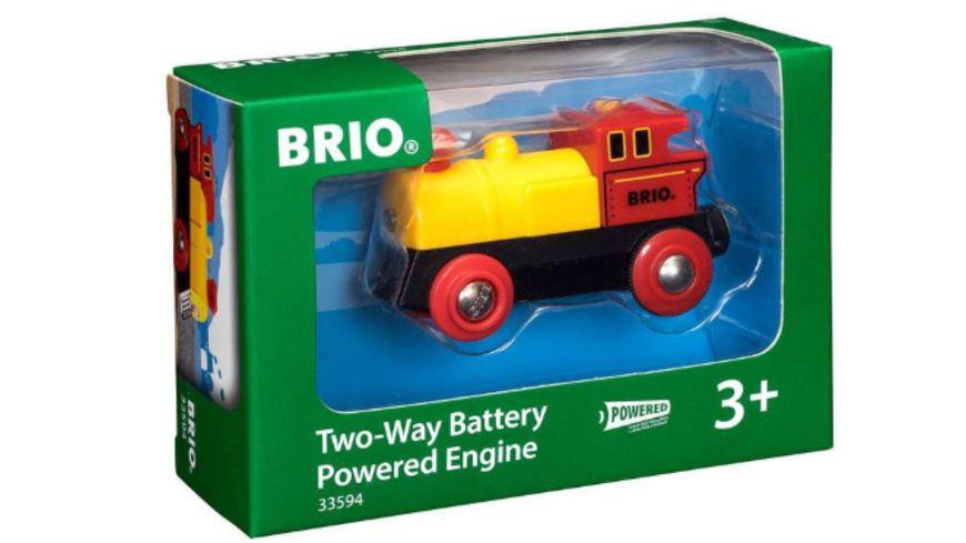 BRIO Bahn - Gelbe Batterielok