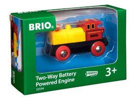 BRIO Bahn Gelbe Batterielok