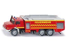 SIKU 2109 Super Mercedes Zetros Feuerwehr