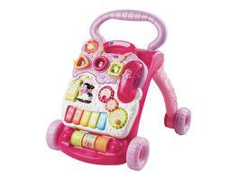 VTech Baby Spiel und Laufwagen pink