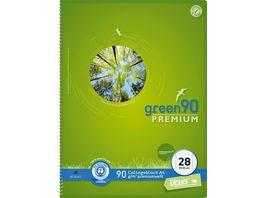 Collegeblock Premium A4 3er Pack Lineatur 28